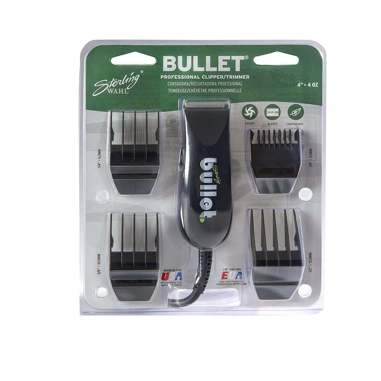愛用 Wahl Professional Sterling Bullet Clipper and/Trimmer #8035 – One Great B07DZ4S5MX for Professional Stylists and Barbers – Rotary Motor – Black (並行輸入品) One Size One Color B07DZ4S5MX, 西之表市:f761ab4f --- arianechie.dominiotemporario.com