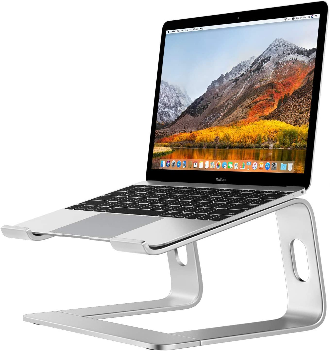 "Desire2 Laptop Stand, View Ergonomic Aluminum Laptop Computer Stand, Detachable Laptop Riser Notebook Holder Stand Compatible with MacBook Air Pro, Dell XPS, HP, Lenovo More 10-15.6"" Laptops"