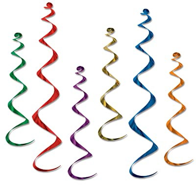 Twirly Whirlys (asstd colors) (6/Pkg): Kitchen & Dining [5Bkhe0502317]