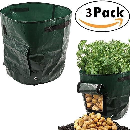 Bolsa de cultivo, 50L, 34 x 35 cm Jardín Seed Box Huerto urbano ...