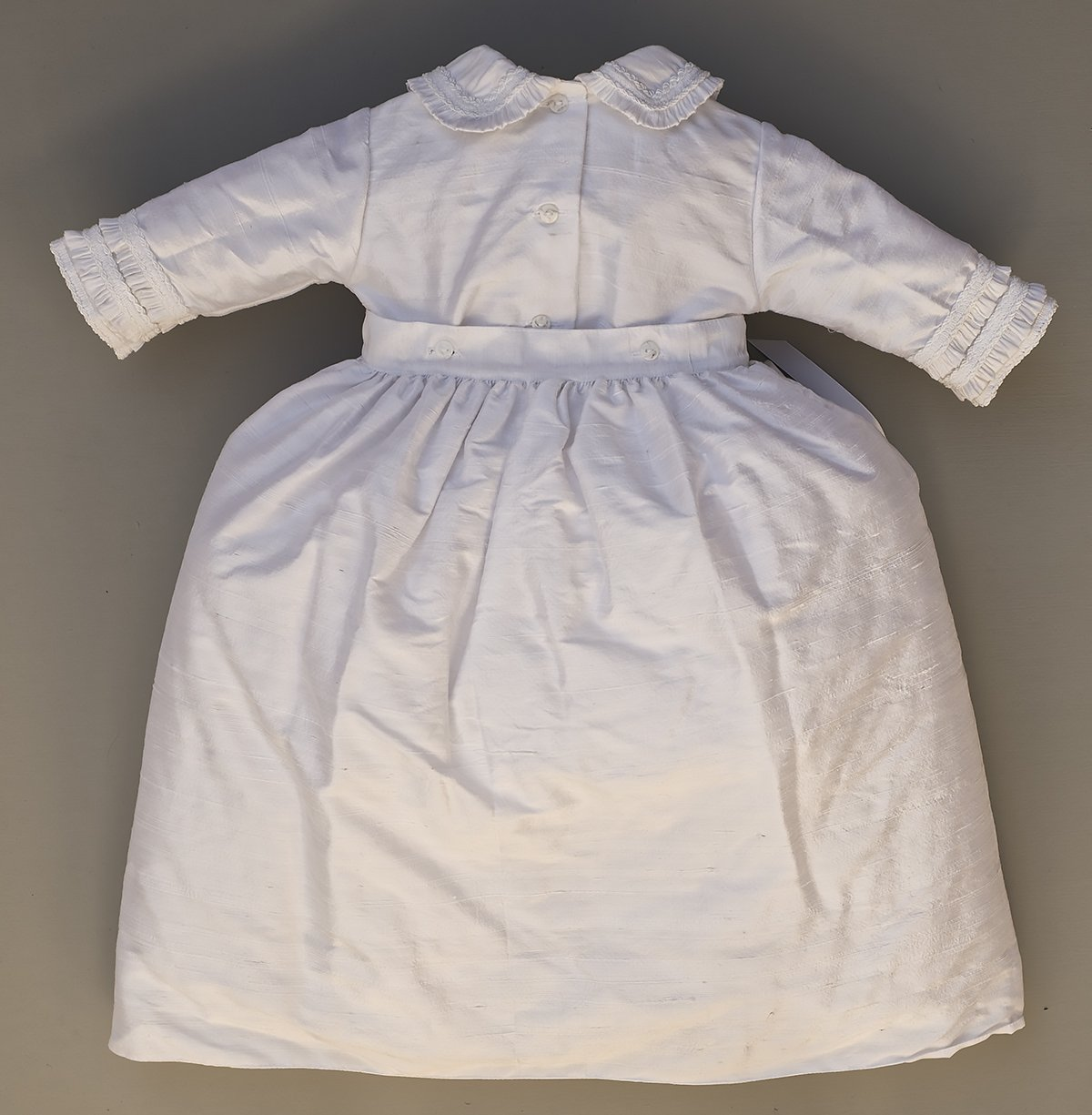 Heirloom Baby Boy's Christening Baptism Gown, Hand Made White Burbvus Ropones by Burbvus (Image #10)