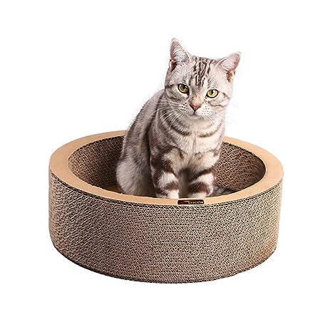 Cat Rascador de espalda con Catnip, Cat Rascador Rascador De ...