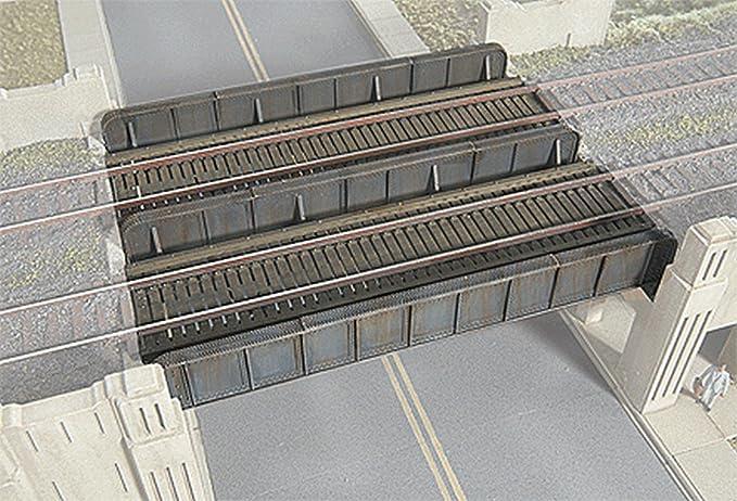 NEU Bausatz kleine Stahlbr/ücke zweigleisig Spur N