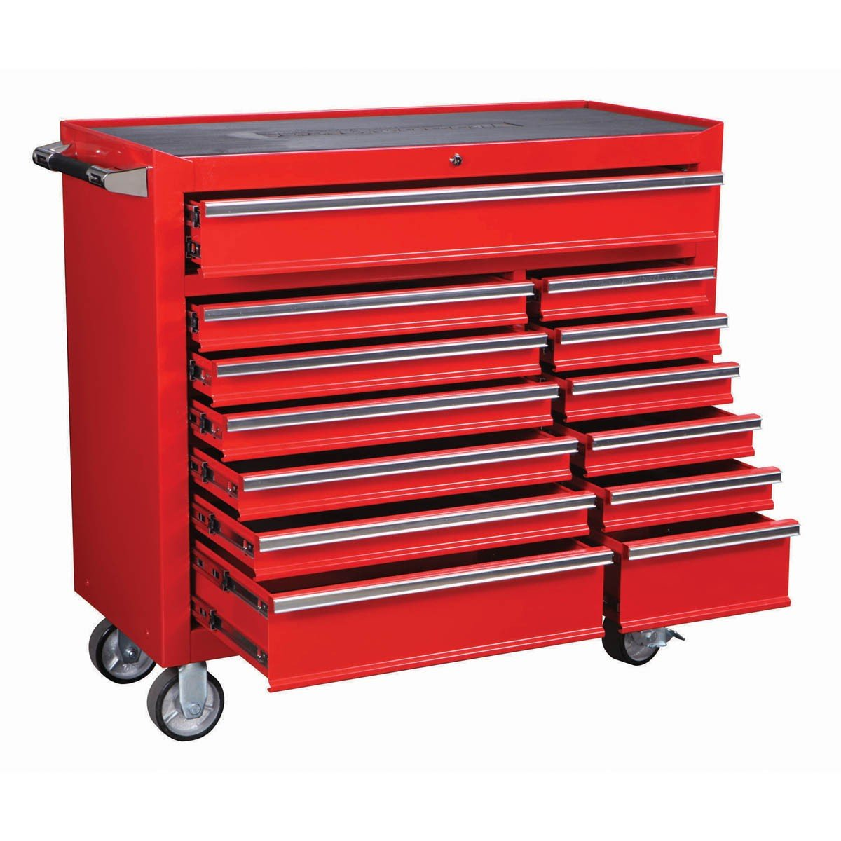 ROLLER CABINET 2633 LB CAPACITY INDUSTRIAL QUALITY 13 DRAWER 44'' by US GENERAL At The Neighborhood Corner Store