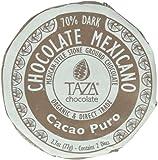 Taza Chocolate Mexicano Chocolate Disc, Cacao Puro, 2.7 Ounce