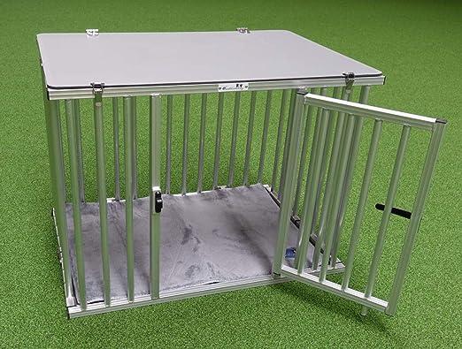 Callieway® Plegable/Plegable Aluminio dogbox/Perros Box/Jaula de Transporte Plegable: Amazon.es: Productos para mascotas