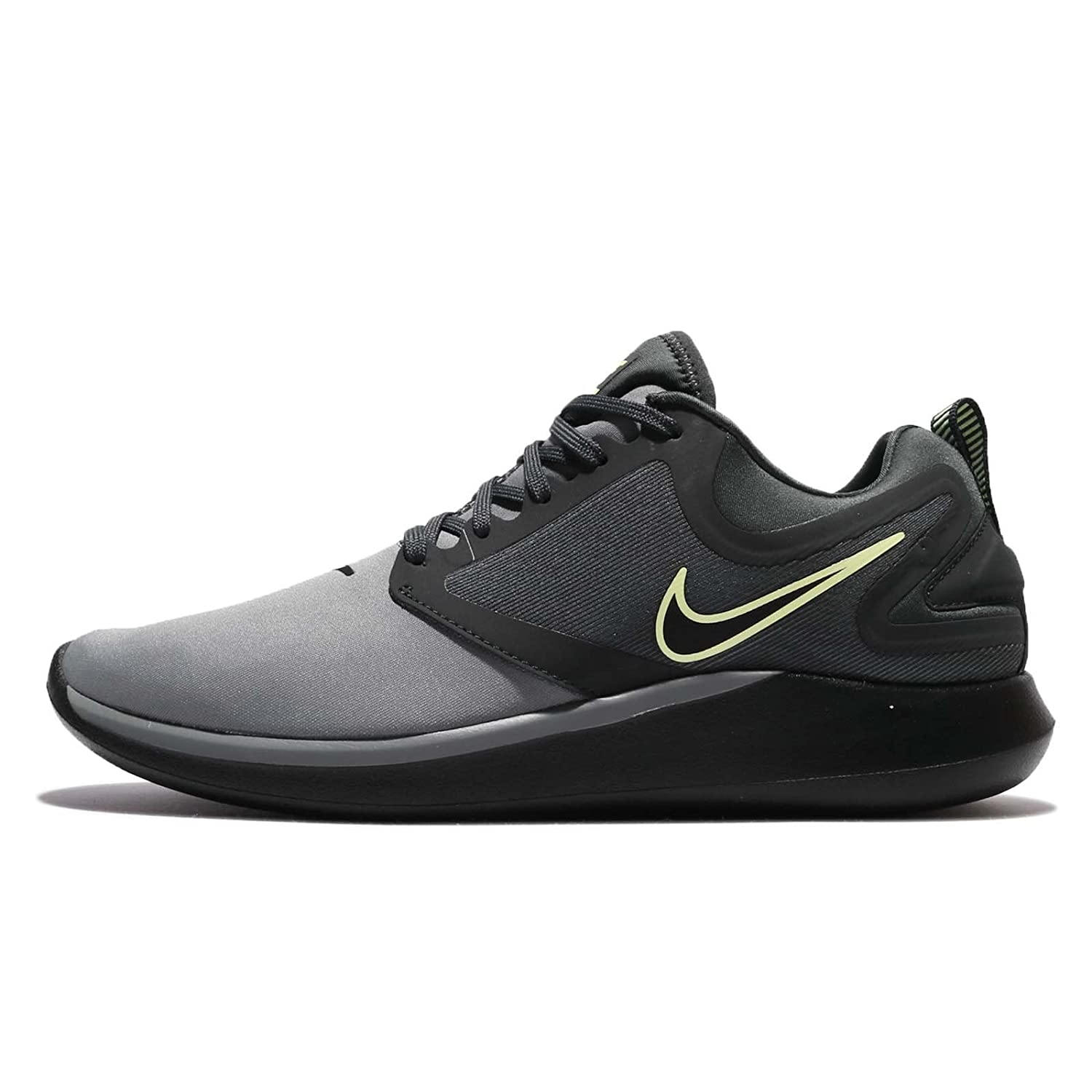 NIKE Men's Lunarsolo Grey Running Training Shoes B06WVBHB33 Medium / 7.5 D(M) US|Cool Grey/Black-anthracite-barely Volt