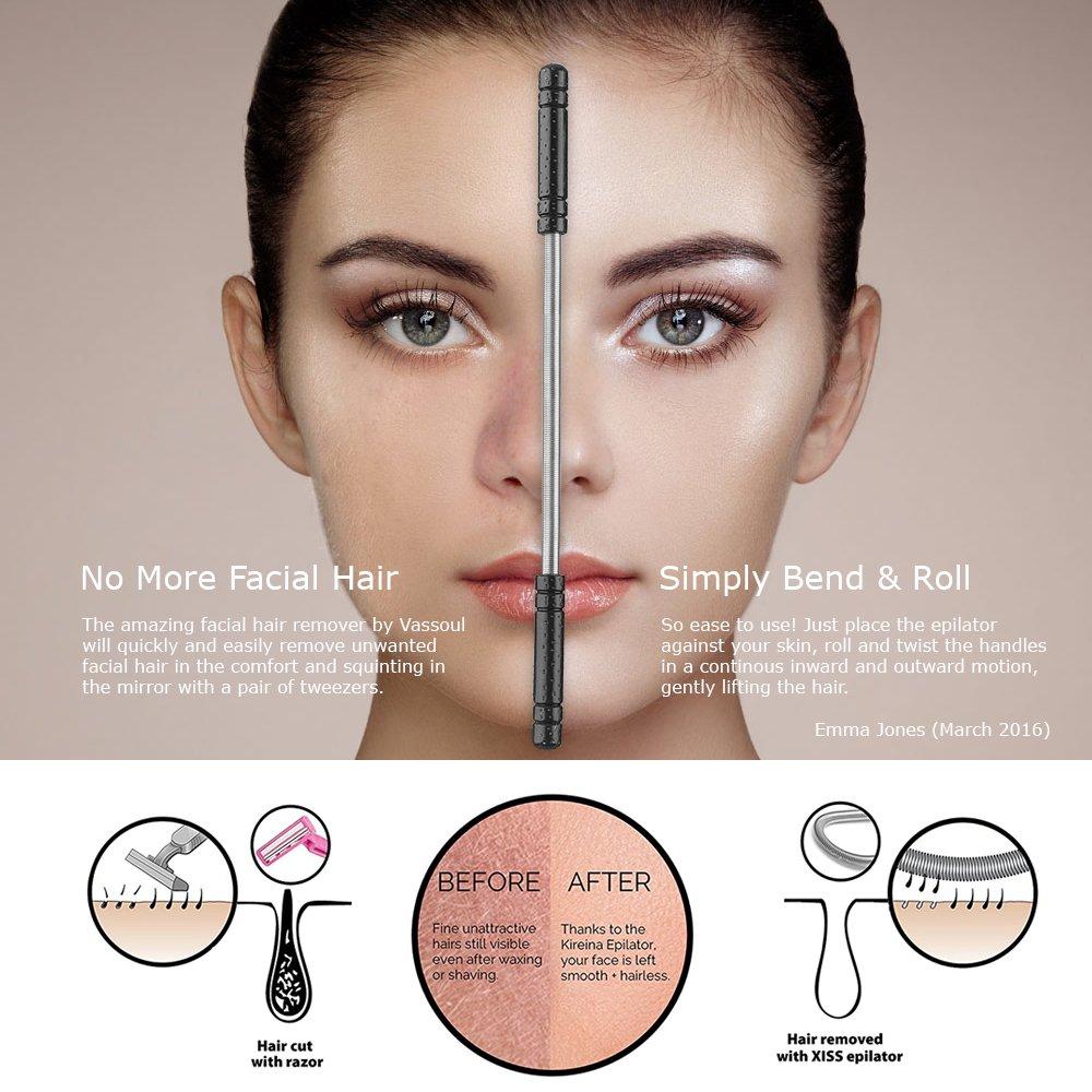 Women who shave facial