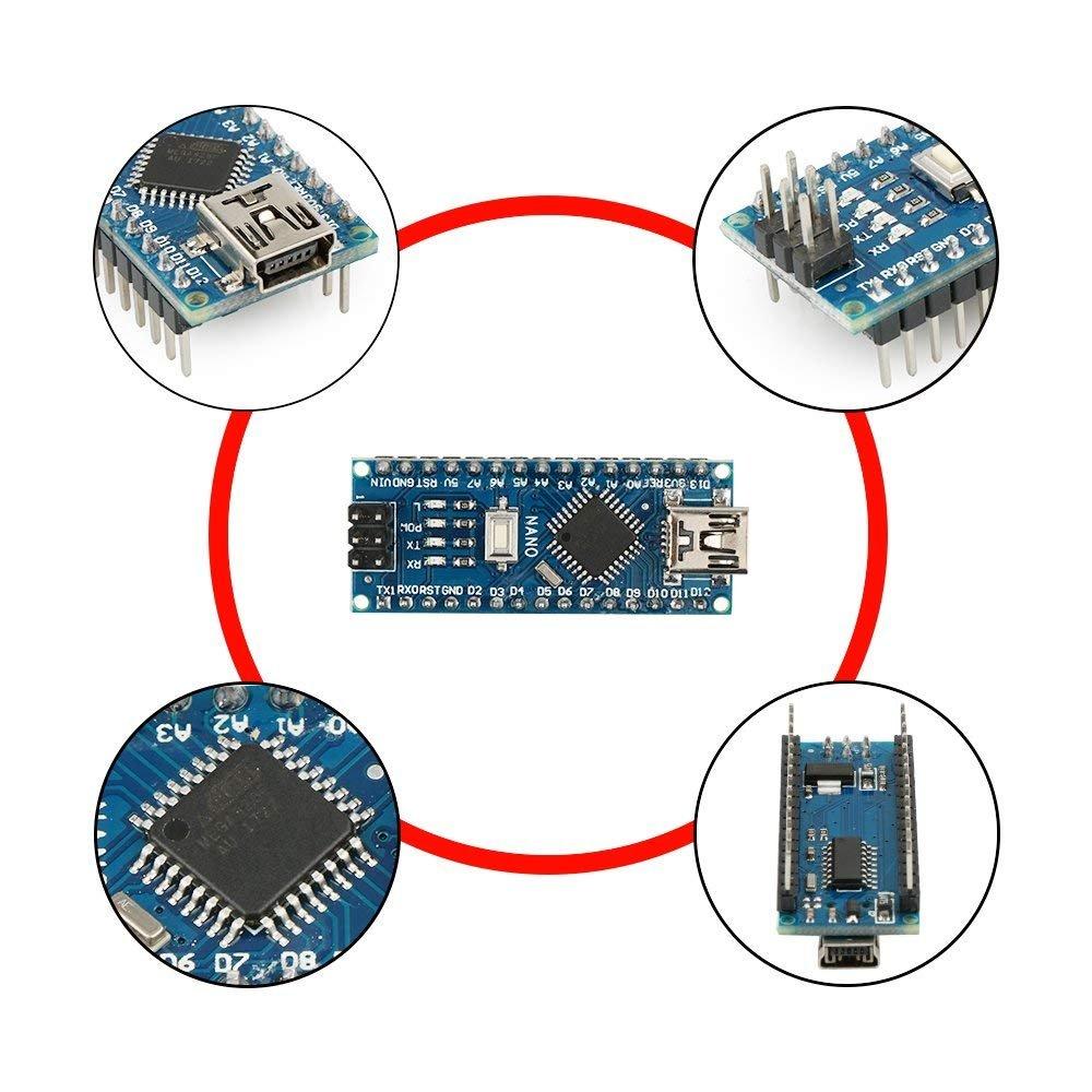 Keywish RF-Nano für Arduino Nano V3 0 Mirco USB Board