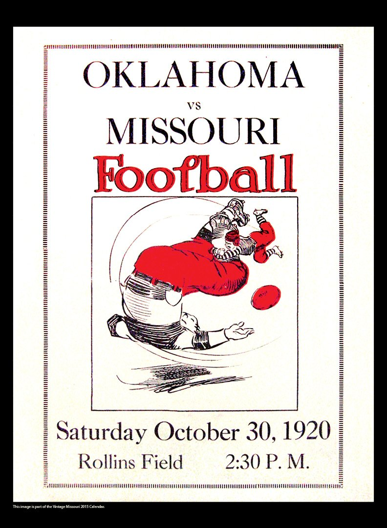 Missouri Tigers 2015 Vintage Football Calendar: Asgard Press:  9781630360450: Amazon.com: Books