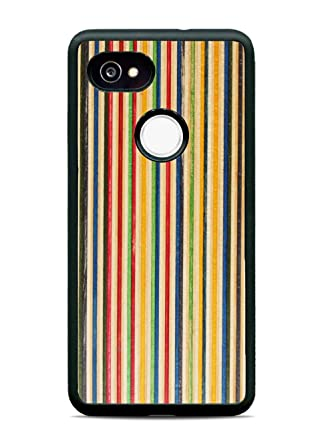 super popular 7f4c8 b286c Pixel 2 XL Recycled Skateboard Wood Traveler Protective Case by ...