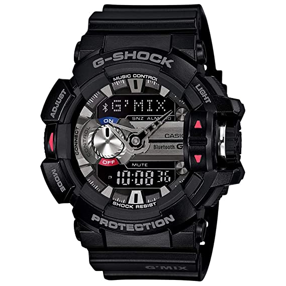purchase cheap 7986c e470b Casio G-Shock Analog-Digital Black Dial Men's Watch - GBA-400-1ADR (G556)