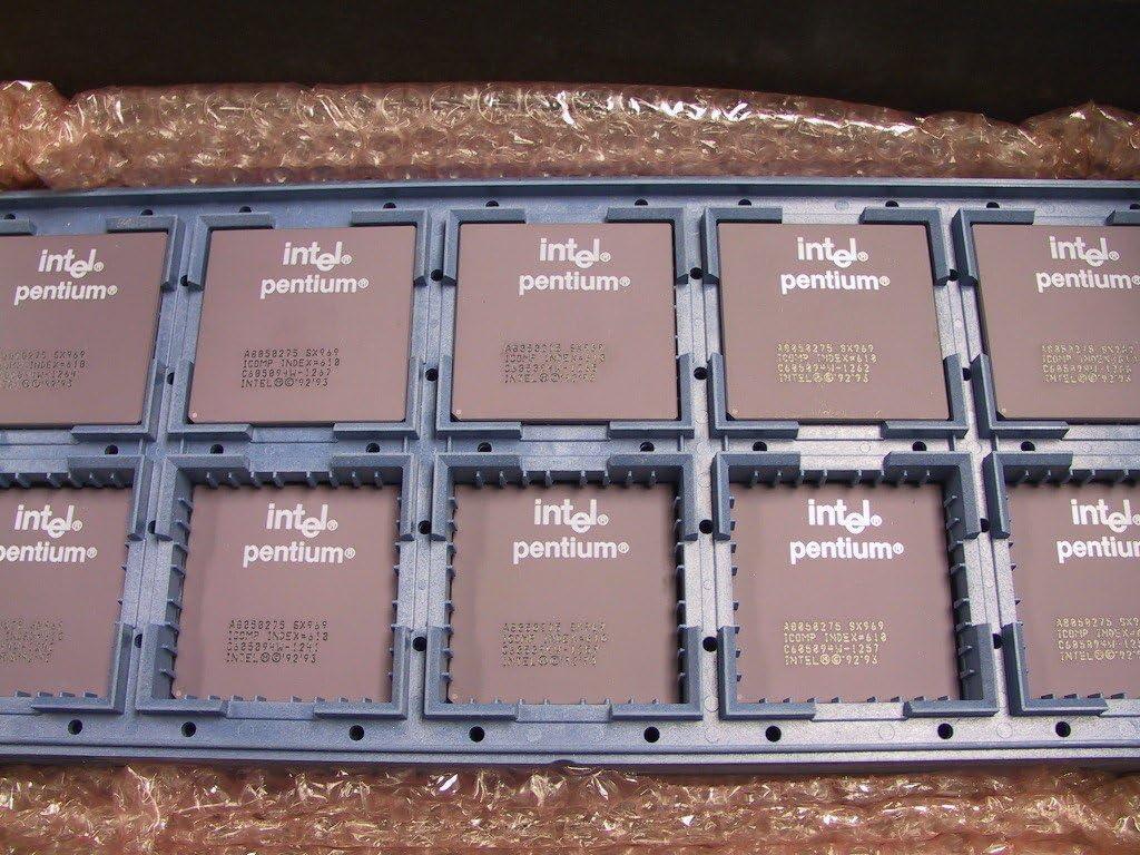 Intel Pentium A80502-75 Processor CPU SX969 Computers/Tablets ...