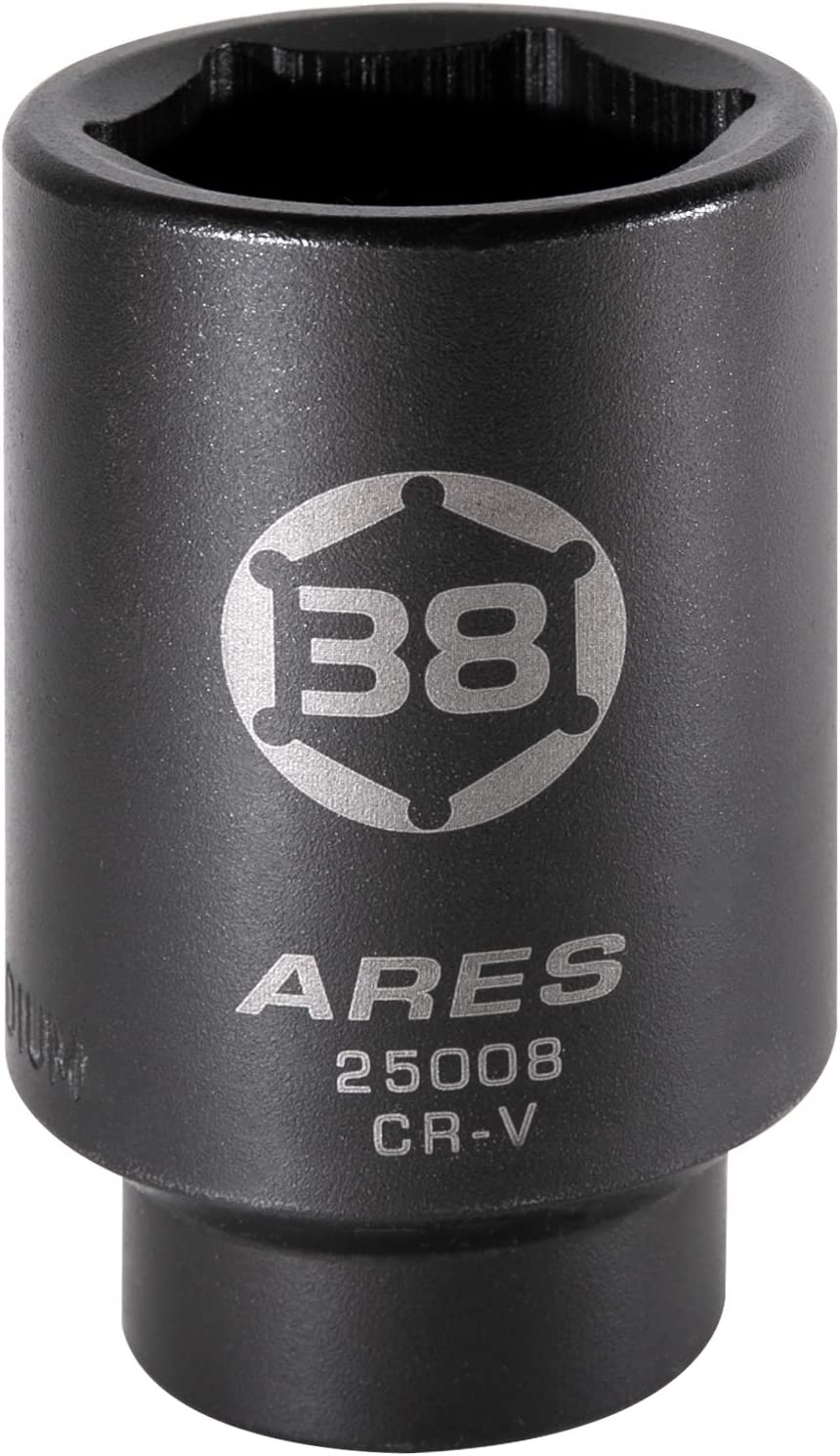 Extra Deep Impact Socket for Easy Removal of Axle Shaft Nuts ARES 25005-1//2-Inch Drive 6 Point Axle Nut Socket 34MM