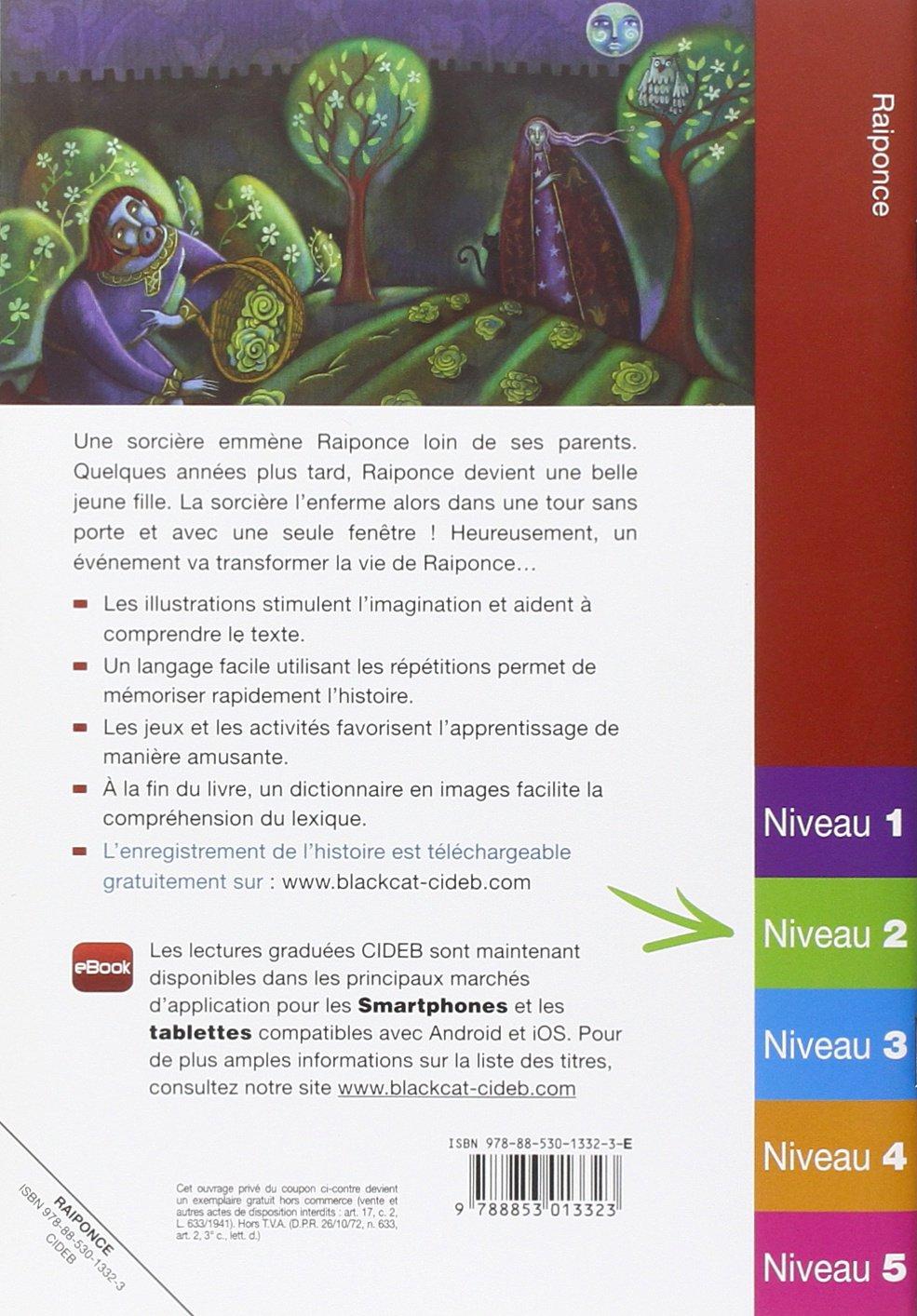 Facile a Lire: Raiponce (French Edition): Varios