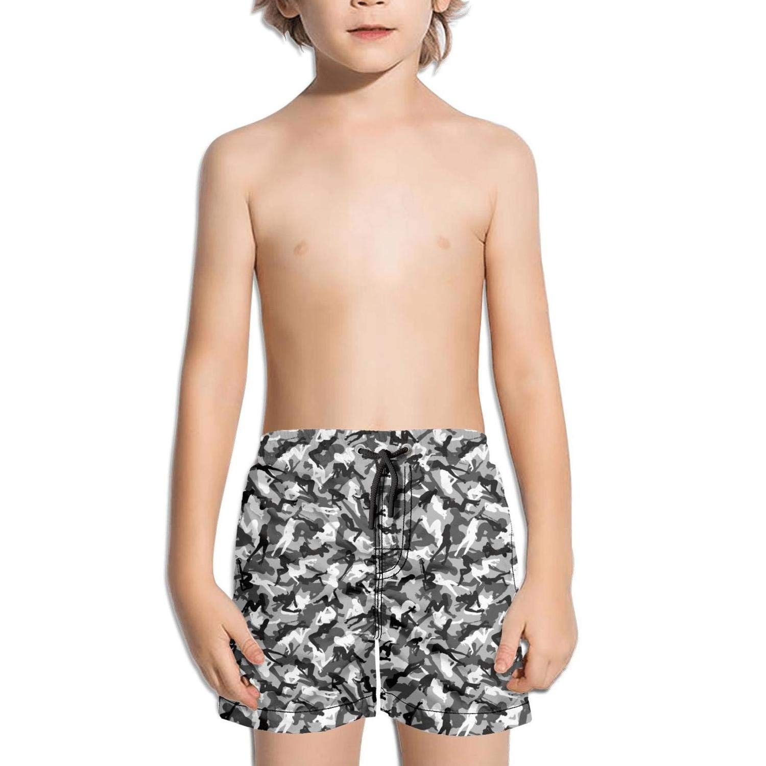 Kid Real camo Tree Board Shorts Surf Outdoor Water Sports Quick-Dry Boardshorts
