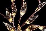 INLAR Solar Lights Tree Branch Leaf Shape Lamp, 3