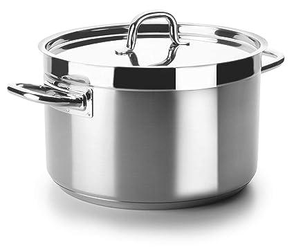 Lacor - 54046s - Cacerola Alta Sin Tapa Chef Luxe 45 Cm Inox