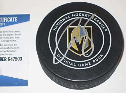 Signed Reilly Smith Hockey Puck - Official w Beckett COA - Beckett  Authentication - Autographed NHL acc3bd957