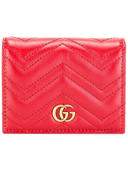 d39c0fc9f98 Gucci Women s 466492DRW1T6433 Red Leather Wallet  Amazon.ca  Sports    Outdoors