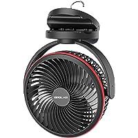 OPOLAR 10000mAh Clip on Fan, 7-Inch Battery Operated Desk Fan, 4 Speeds Portable Fan Rechargeable, Strong Wind, Time…
