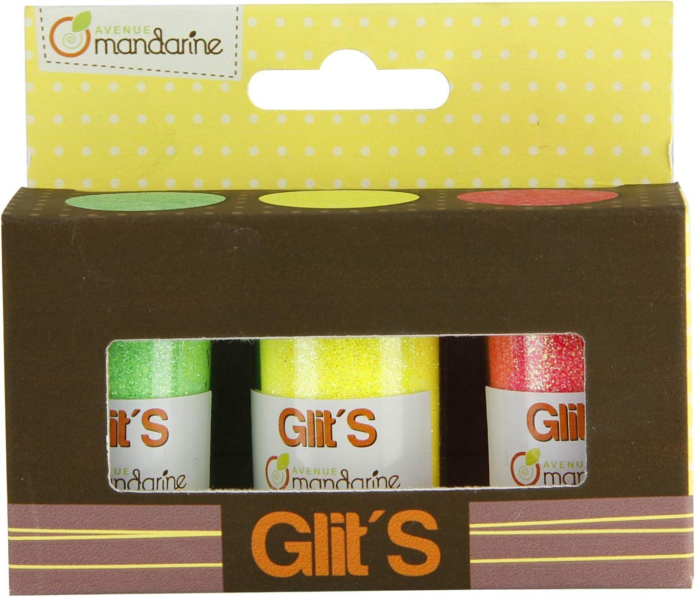 Avenue Mandarine 42667O Purpurina para Manualidades Color Multicolor