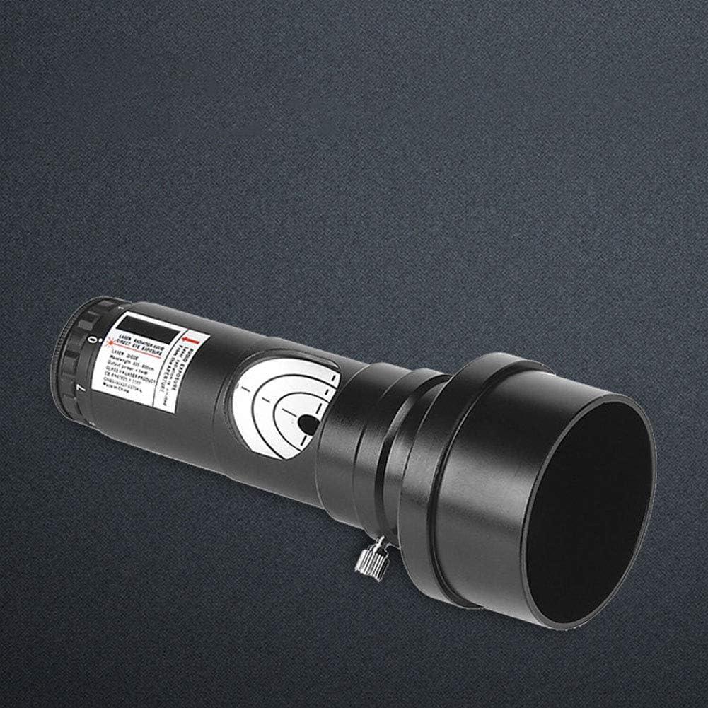 wistaria251 Telescope Collimator Telescope Alignment 7 Bright Levels Lens with Adapter,Professional Optical Alignment