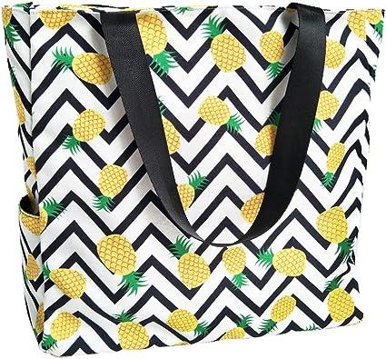 Stylish Tote Bag Large Travel Shoulder Beach School Work Travel Gym Shopping