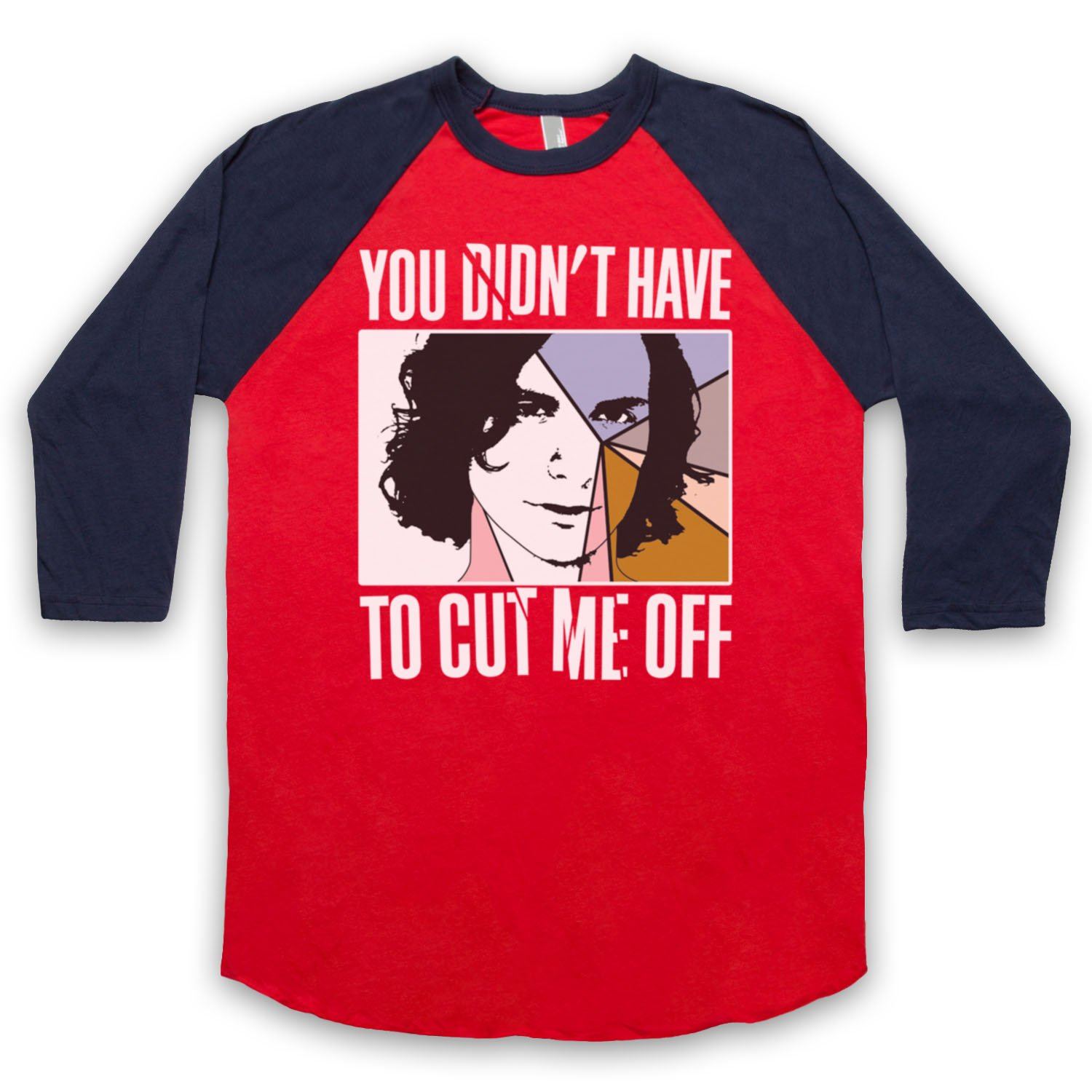 Inspired by Gotye Somebody That I Used To Know Unofficial 3/4 Sleeve Retro Baseball Tee