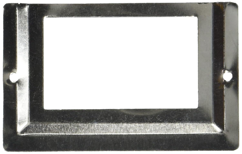 Sourcingmap/® Etiketthalter aus Metall f/ür Schubladen f/ür das B/üro silber 10 St/ück