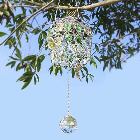30mm Clear Facet Ball Pendant Part Green Ornament Car Hanger Home Sun Catcher