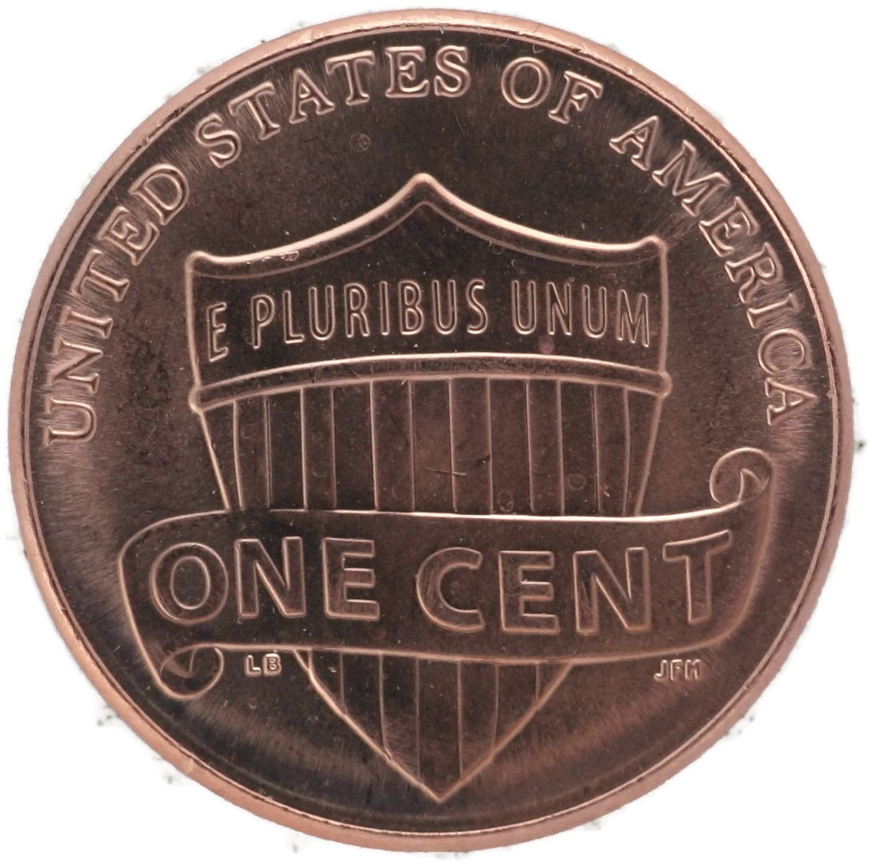Uncirculated One Cent Coin U.S 2018 D Lincoln Shield Penny