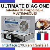 ULTIMATE DIAG ONE - Interface de diagnostic MULTIMARQUES – Version CD-ROM - Valise diagnostique auto multimarque en francais de SELF AUTO DIAG