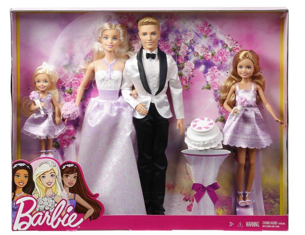 barbie wedding set