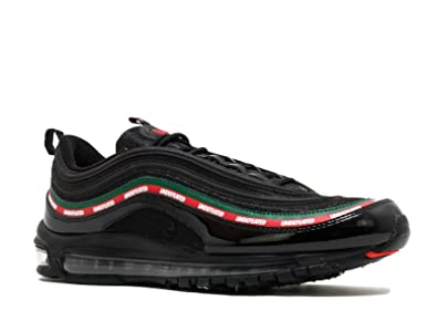 TOP10 AIR Max 97 OG Undftd Undefeated Black Speed Red Gorge Green Mens  Womens Running Shoes 0f139afdb