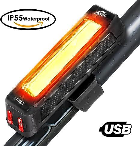 HiHiLL Luces Bicicleta, Luz LED Trasera de Bicicleta, Luces para ...