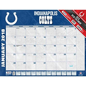 2018 Indianapolis Colts Desk Pad