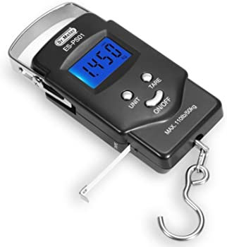 Dr.meter Digital Fishing Postal Hanging Hook Scale