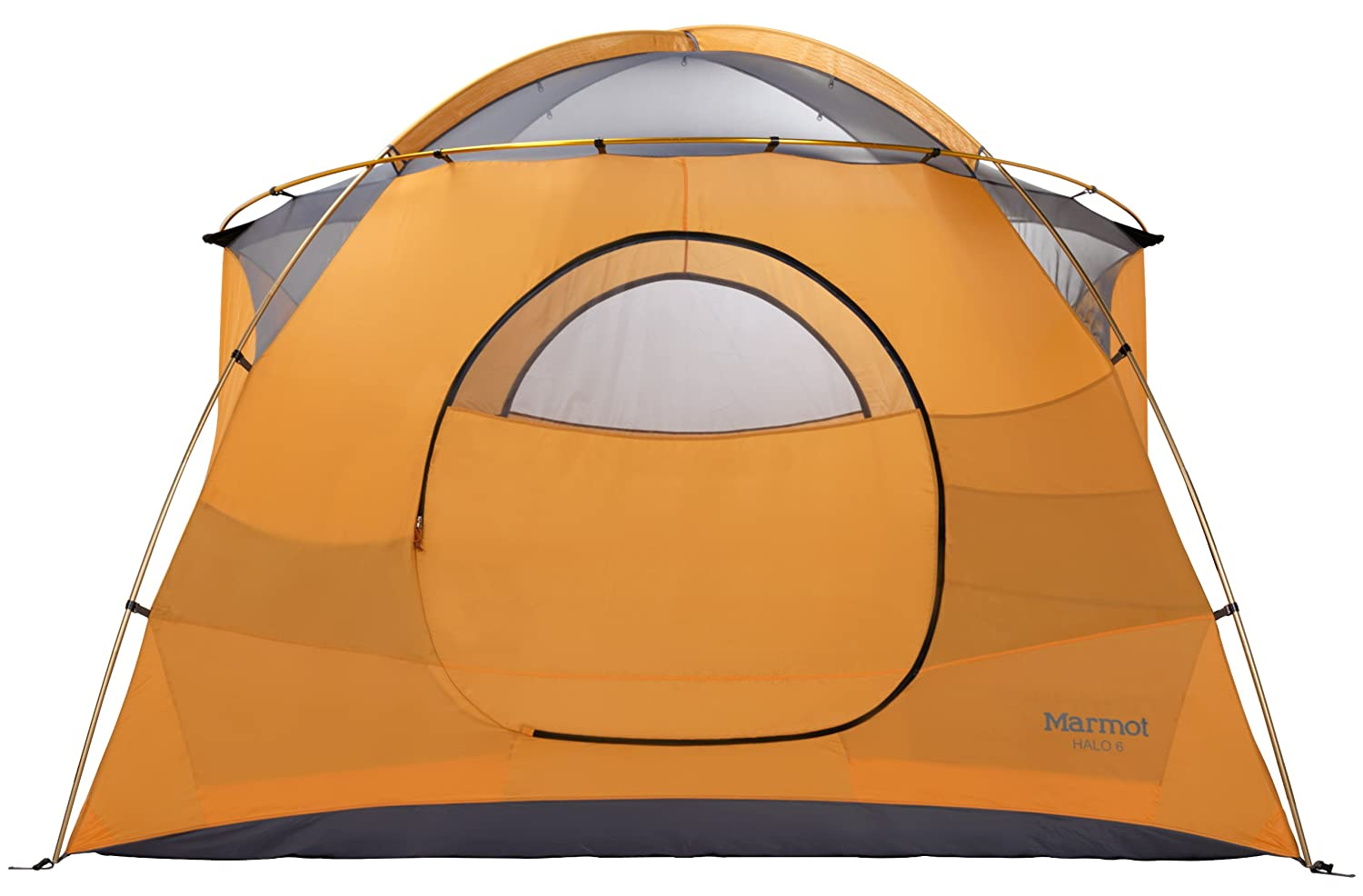 Amazon.com  Marmot Halo 6-Persons Tent Orange One  Sports u0026 Outdoors  sc 1 st  Amazon.com & Amazon.com : Marmot Halo 6-Persons Tent Orange One : Sports ...