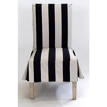 Amazon.com: Classic Slipcovers Cabana Stripe Short Dining ...