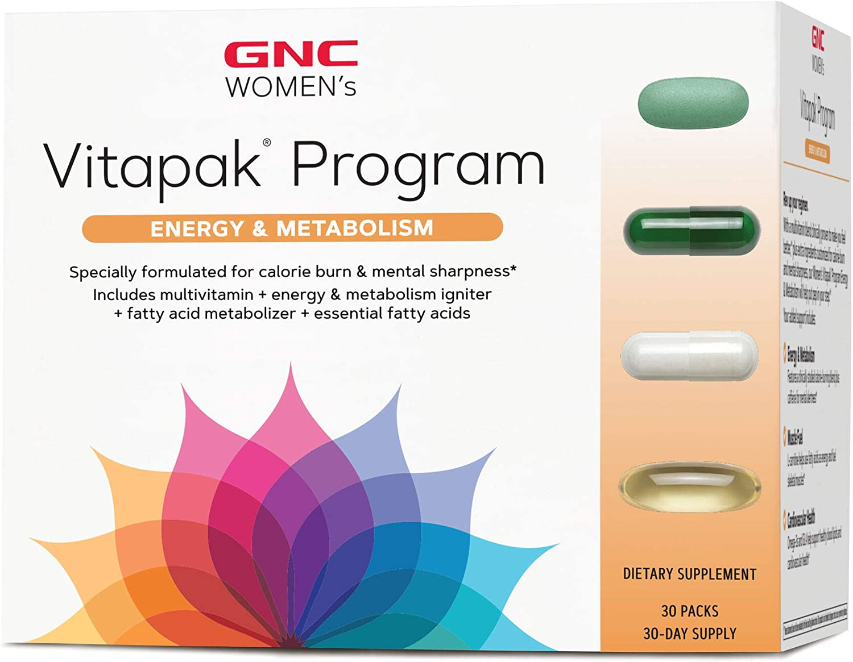 GNC Women's Vitapak Program Energy and Metabolism
