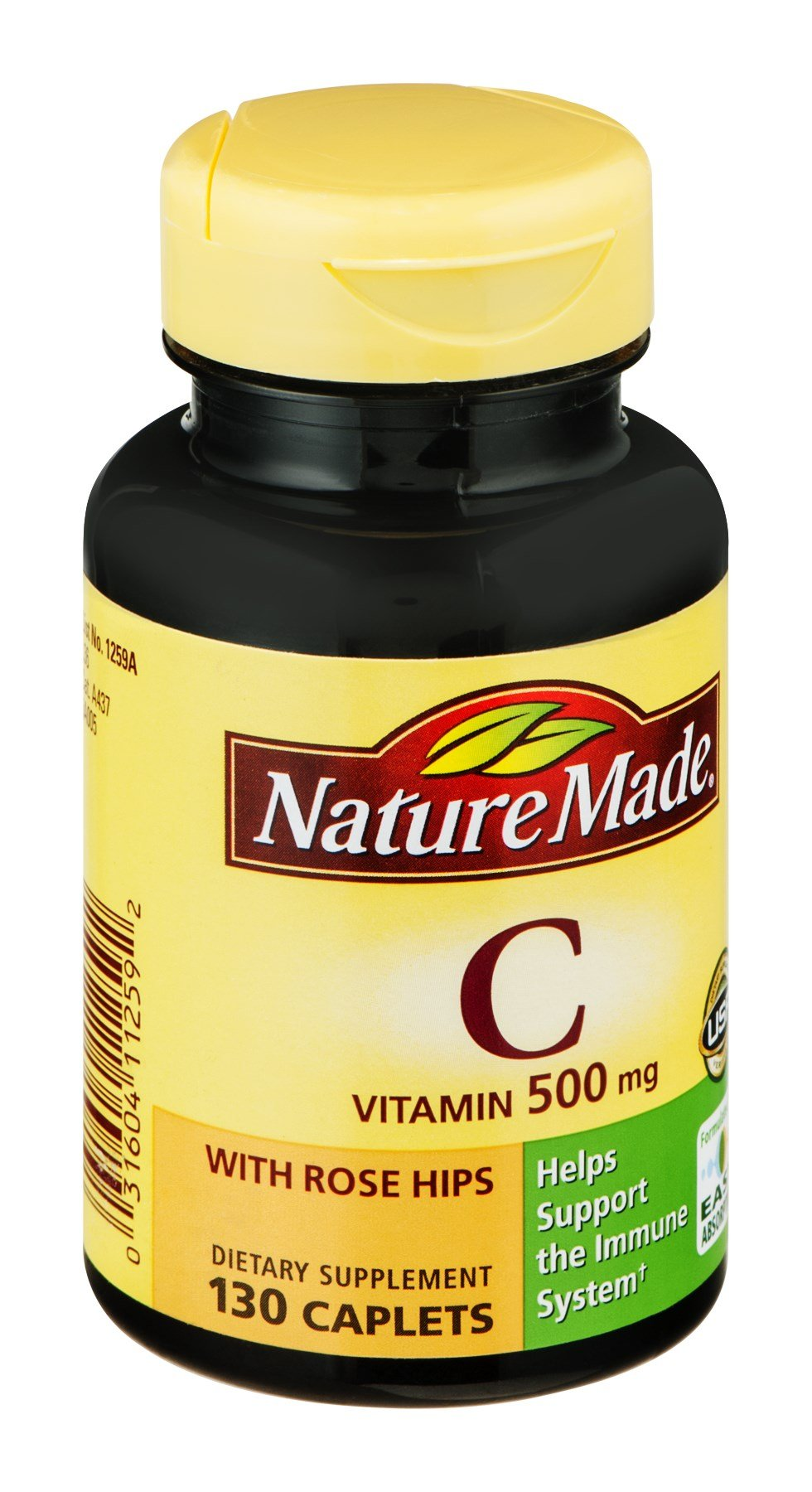 Nature Made Nat Made C Rs Hip 500 Mg 130 Tb, Pack of 9