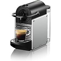 Nespresso EN124SCA Pixie Espresso Machine by De'Longhi, Aluminum
