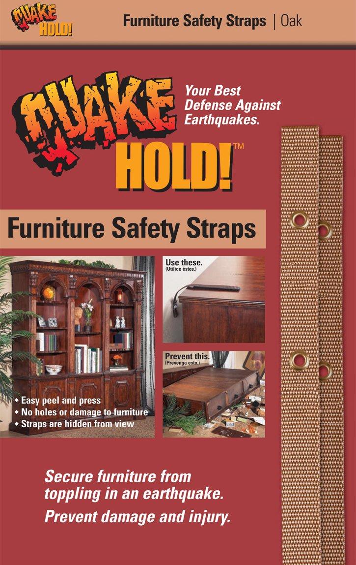 Oak 4161 Furniture Strap Kit Quakehold