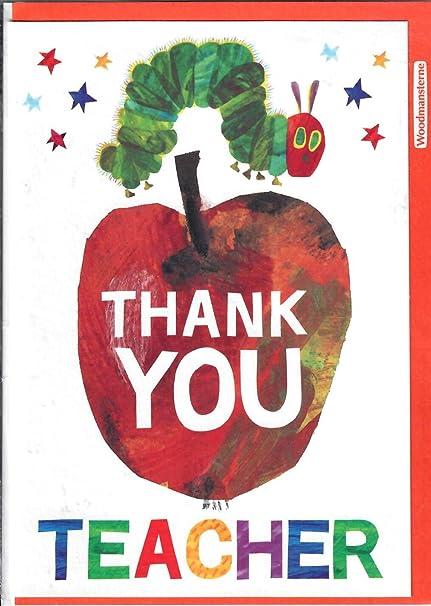 Tarjeta de agradecimiento para profesor (WDM-417160 ...