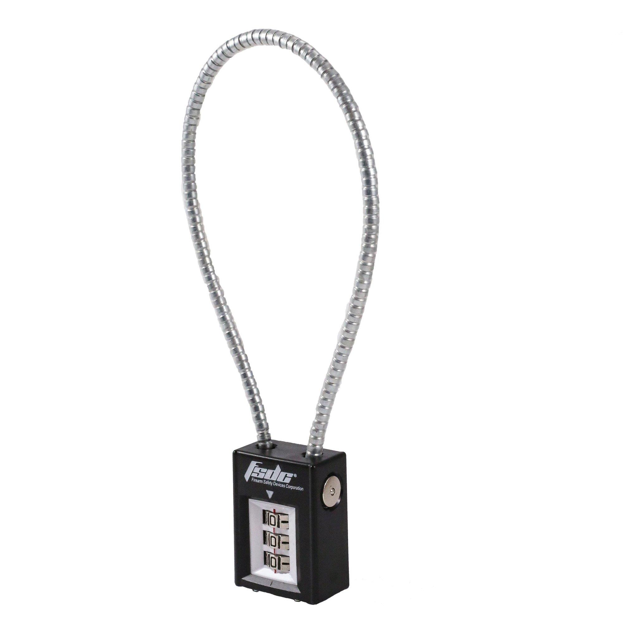 FSDC 14'' California-Approved Combination Cable Gun Lock