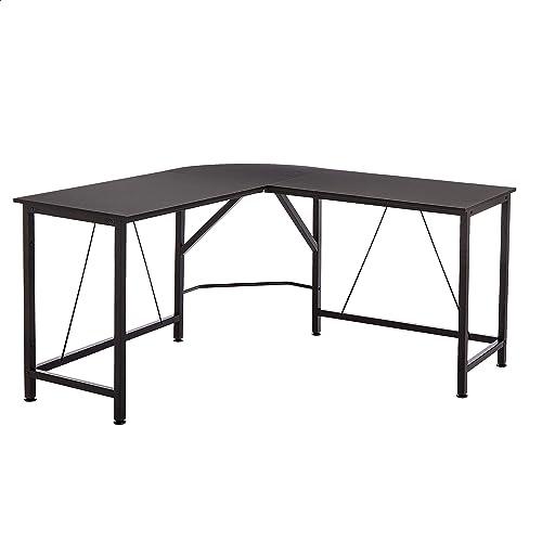 Amazon Basics L-Shape Office Corner Desk