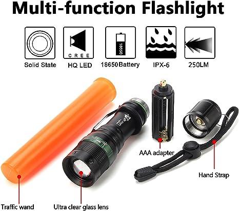 Replacement Traffic Wand for UltraFire UF-303 Signal Traffic Wands Flashlight 4
