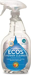 Earth Friendly Products ECOS Shower Cleaner with Tea Tree Oil, 22-Ounce (Pack of 2)