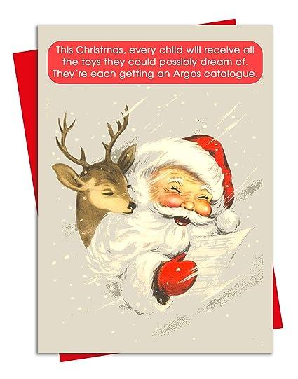 Argos - Tarjeta de Navidad con diseño del catálogo de Nanty ...